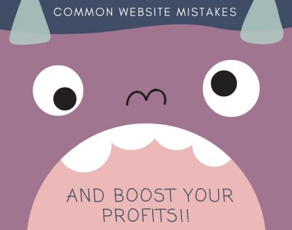 How To Avoid These 5 Common Website Mistakes and Boost Your Profits