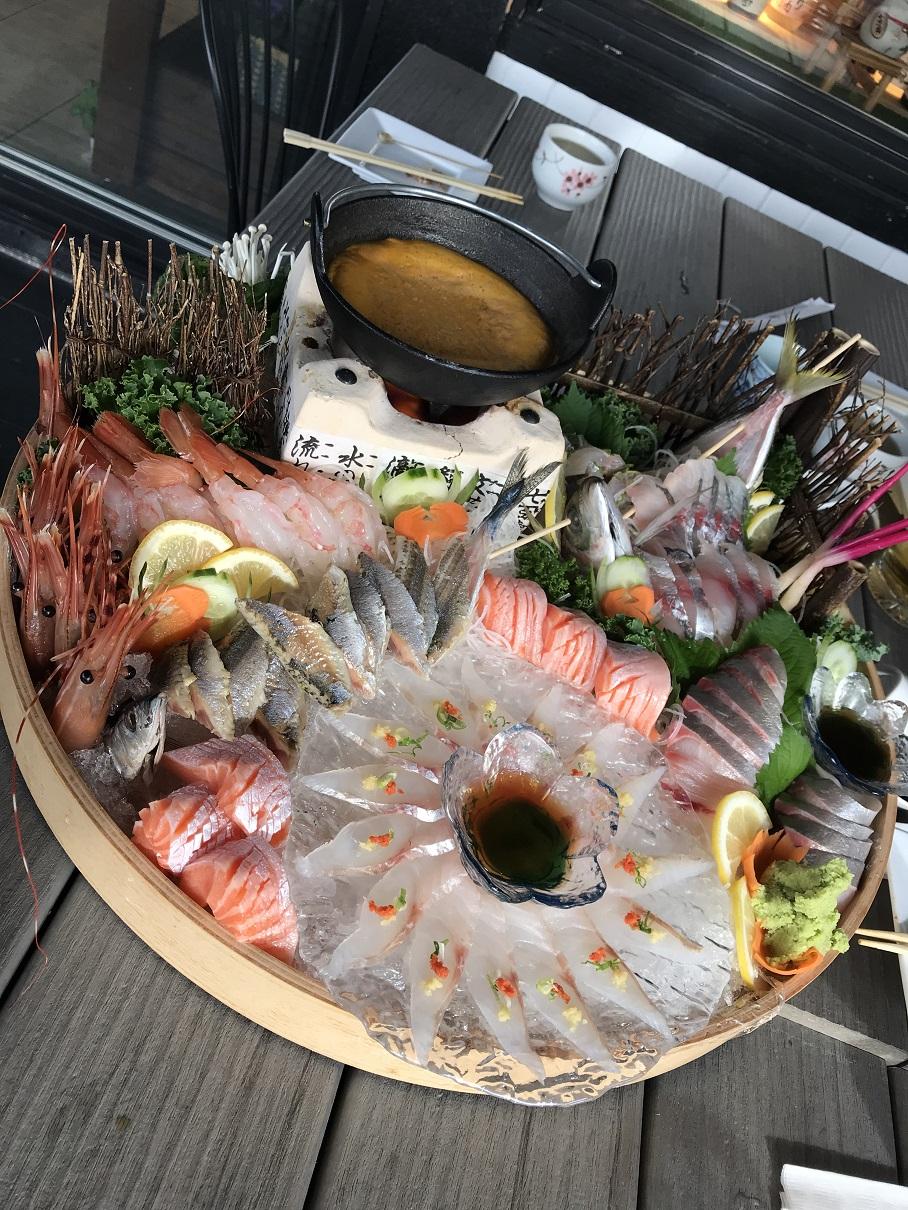 溫哥華餐廳行銷 海膽鍋 日餐