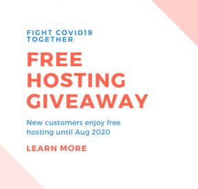 free hosting 2020